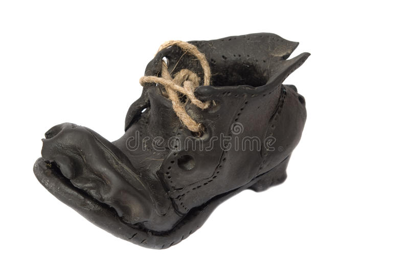 Download The Old Fictile Shoe Stock Photos - Image: 10026063
