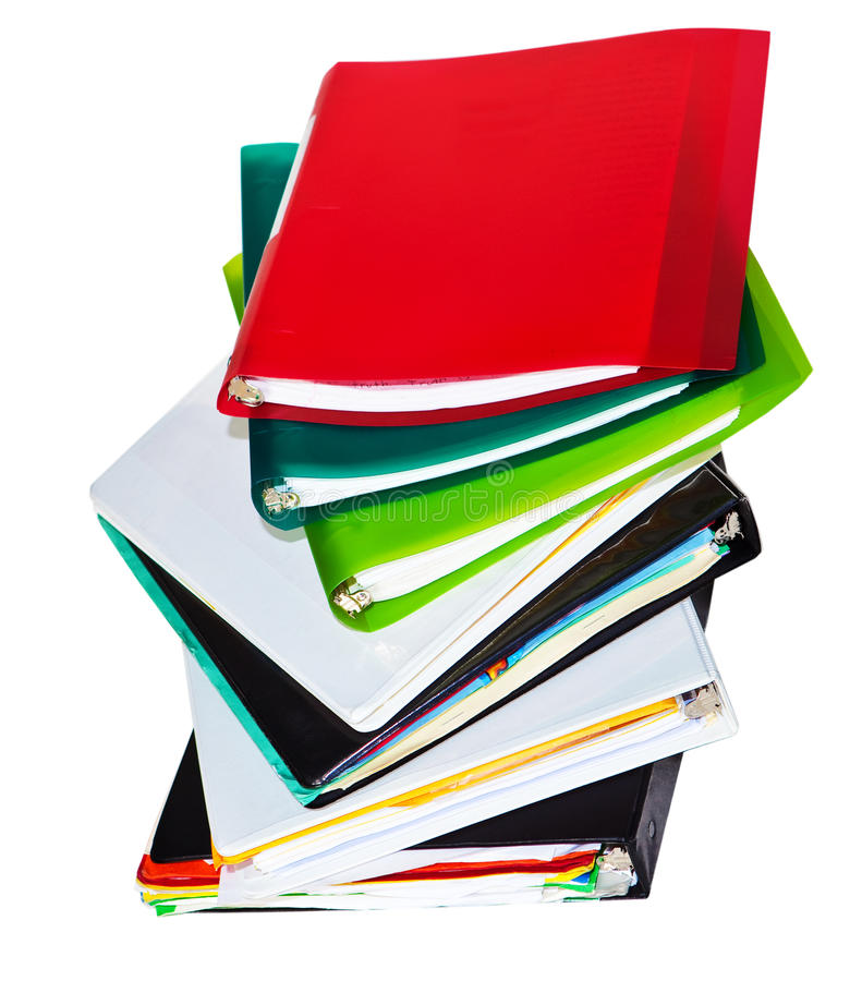 Download Old files stock image. Image of business, folder, test - 11600033