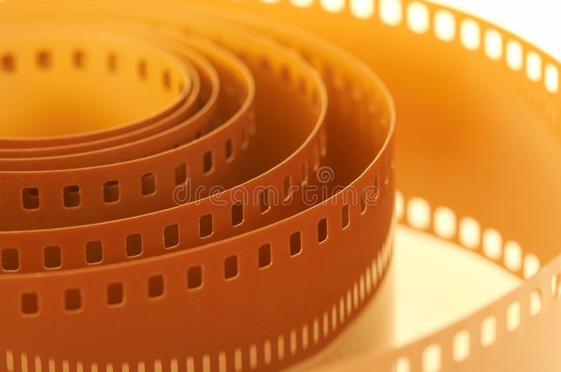 Old film royalty free stock photos