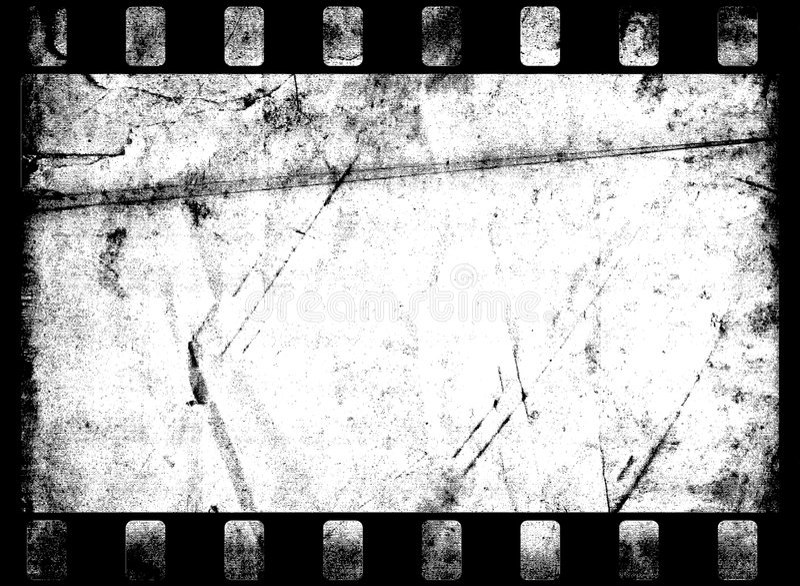 Old Film Frame stock illustration