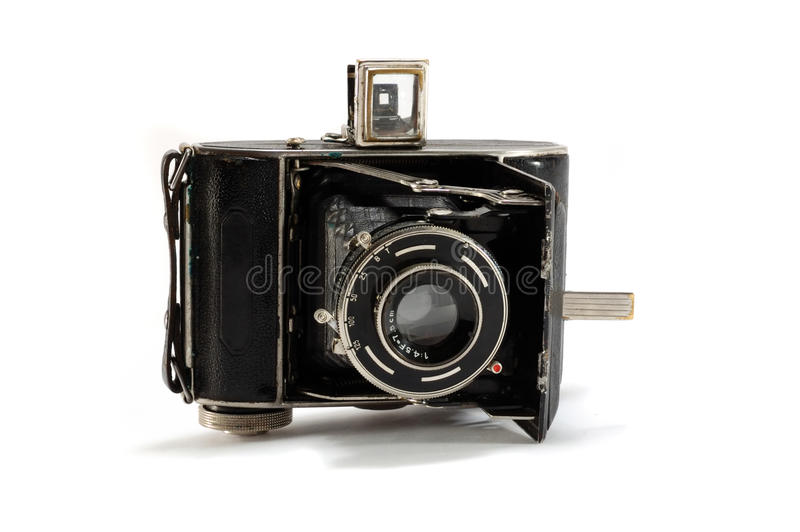 Download Old Film Photo Camera On White Background Stock Image - Image: 17443563