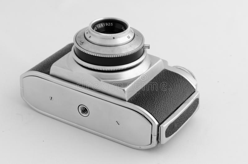 Old film photographic camera stock photo