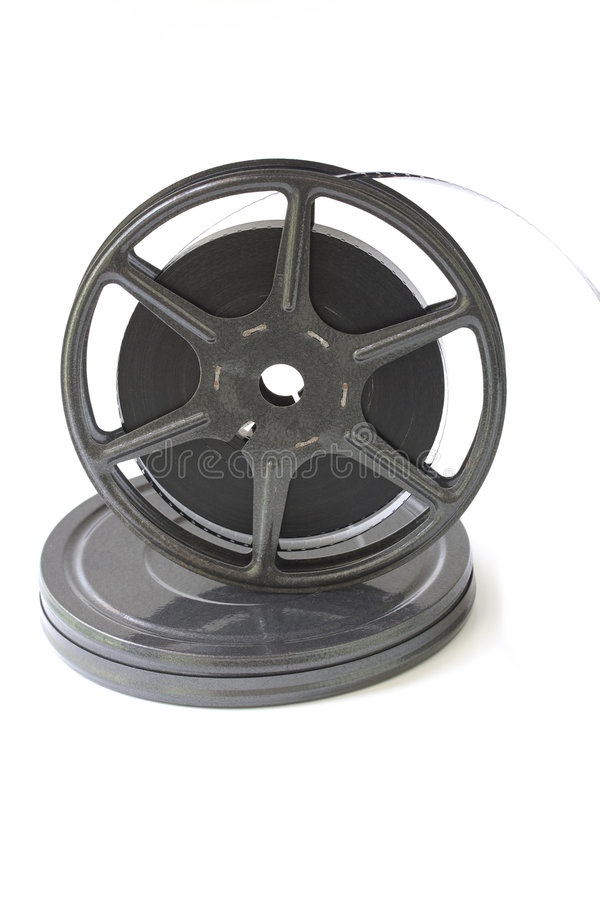 Download Old film reel stock photo. Image of isolated, retro, vintage - 6449626
