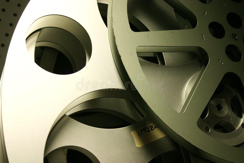 Old Film Reels. A pair of old file reels