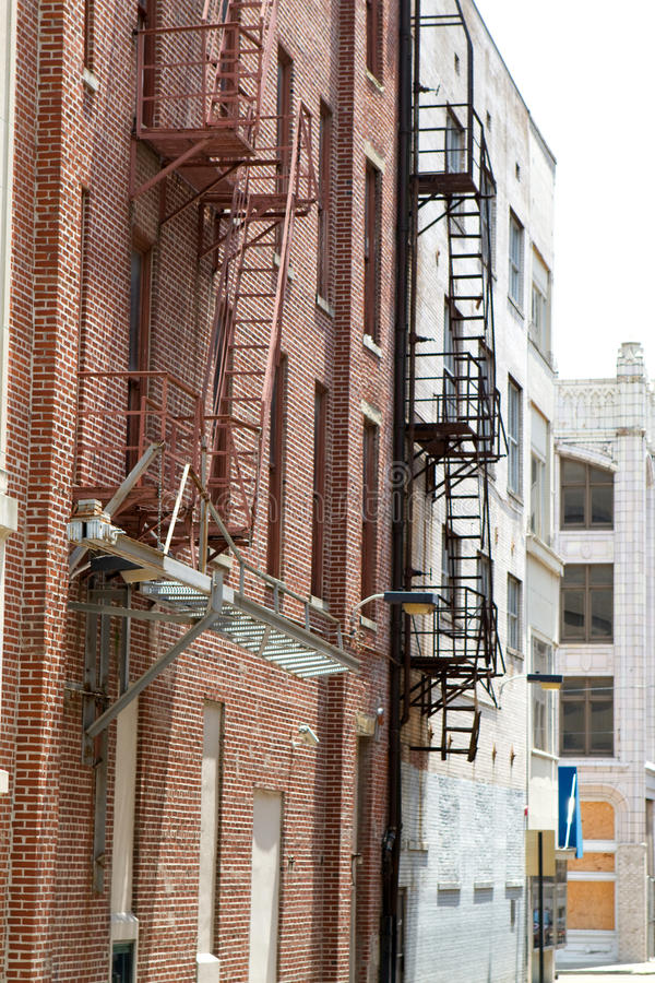 Free Old Fire Escapes Stock Photo - 15006600