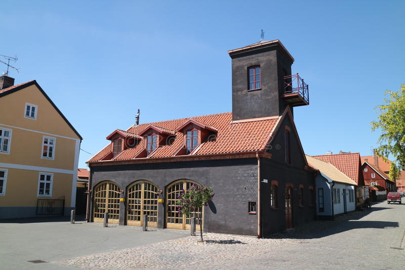 The Old Fire Station stock image