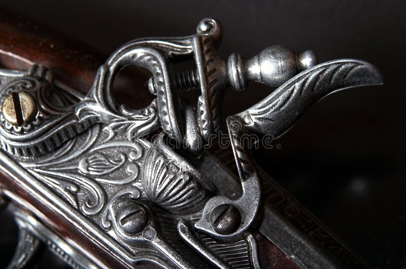 Download Old firearm stock photo. Image of antique, antiquities - 3523424