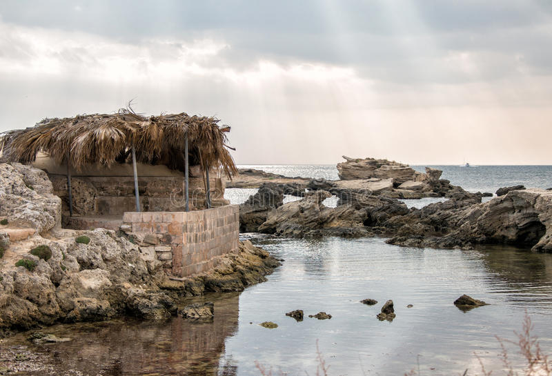 Old fisherman's house. royalty free stock image