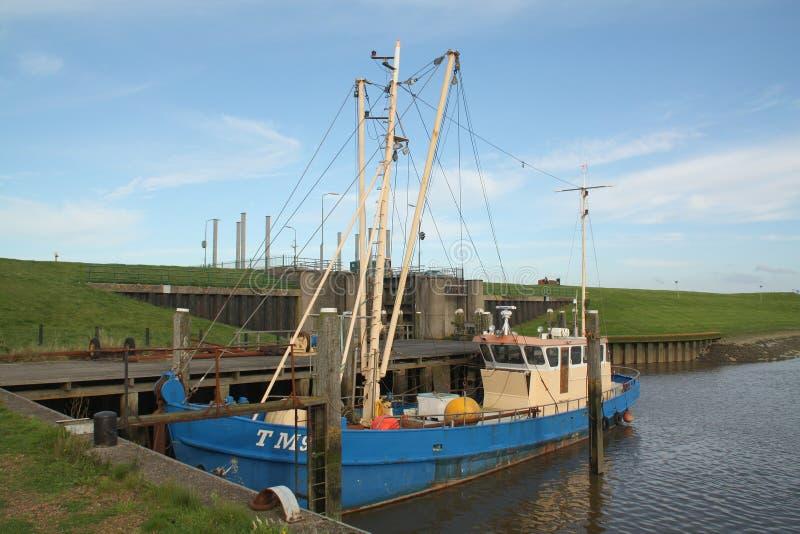 Old fishing boat royalty free stock photos