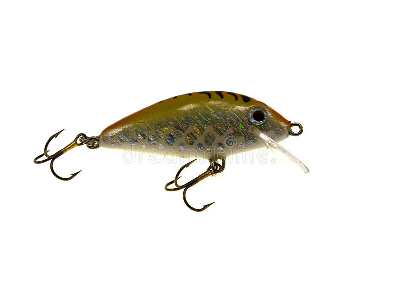 Download Old Fishing Wobbler A Small Fish Stock Photo - Image: 11455844