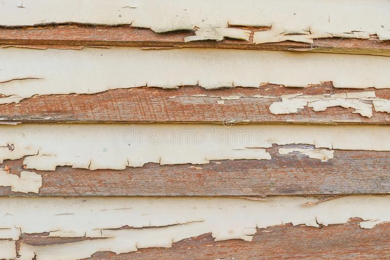 Old flaky, peeling painted weatherboards background. Old flaky, peeling painted weatherboards abstract background stock photos