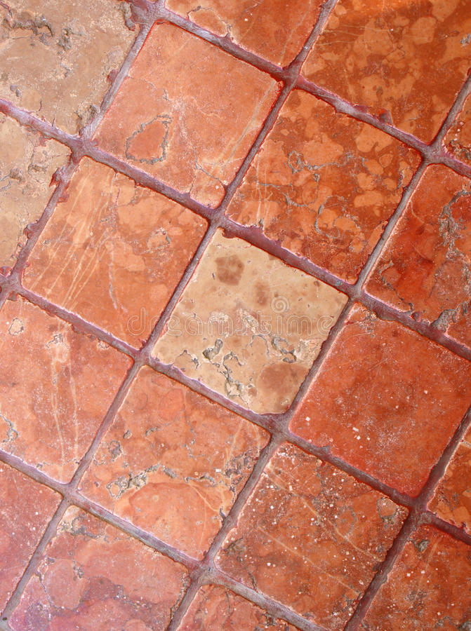 Old floor. Made of squared stones, Italy stock photo