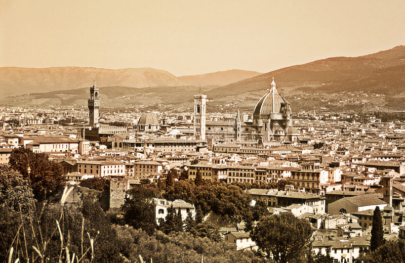 Download Old Florence stock image. Image of memories, duomo, architecture - 2685981