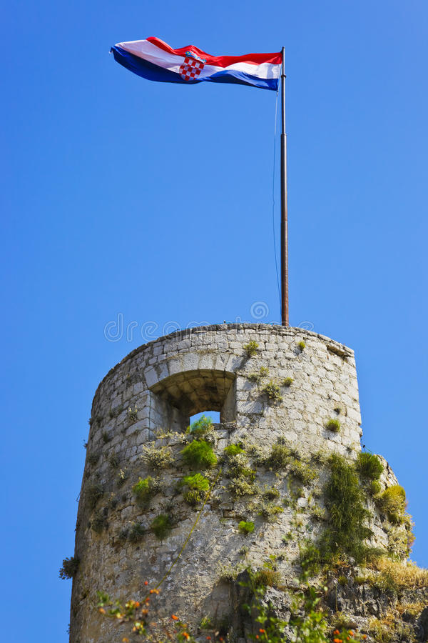 Free Old Fort In Split, Croatia Royalty Free Stock Photos - 22888468