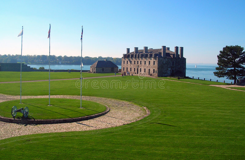 Old Fort Niagara royalty free stock images