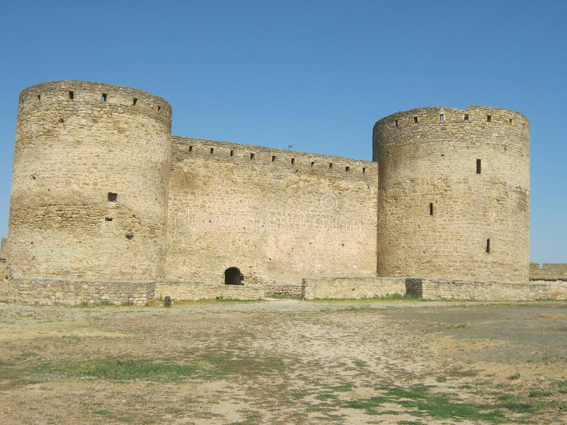 The old fortress-city of Tyre royalty free stock photography
