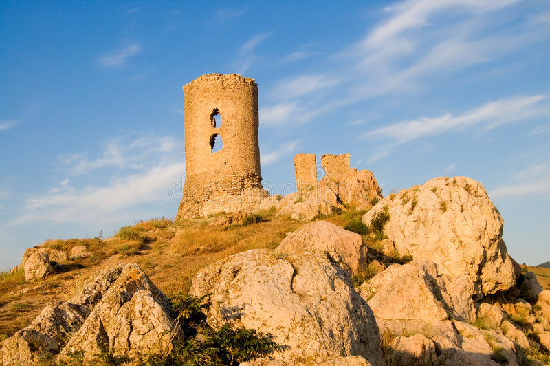 Download Old Fortress In Crimea Stock Image - Image: 5496611
