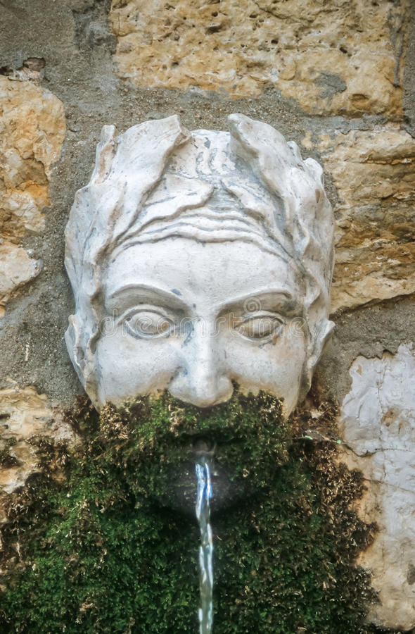 Free Old Fountain In Mougins Stock Photo - 57318410