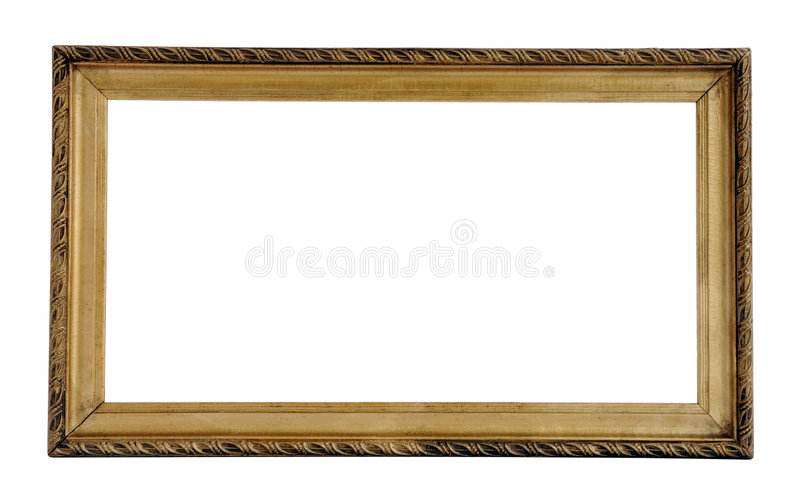 Download Old frame stock photo. Image of frame, antiquarian, isoleted - 3115004