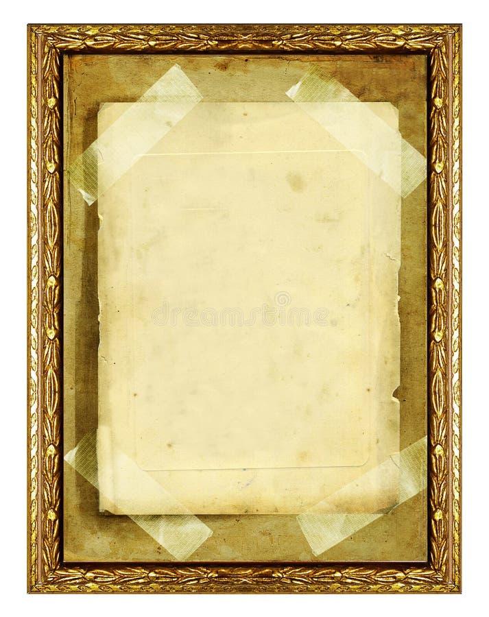 Old frame vector illustration