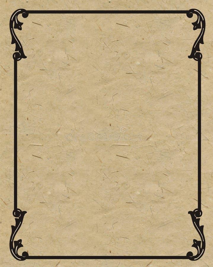 Old frame royalty free illustration