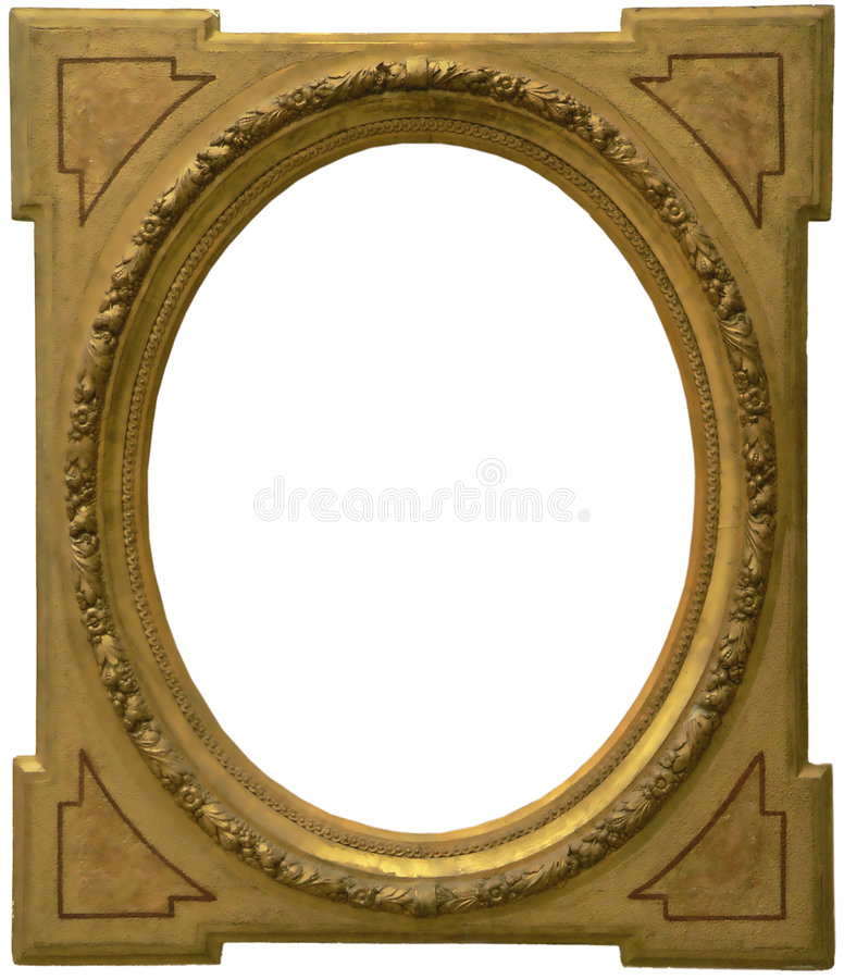 Old Frame isolated royalty free stock image