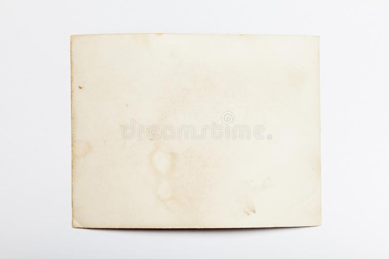 Old frame photo, vintage paper picture, edge border royalty free stock photos