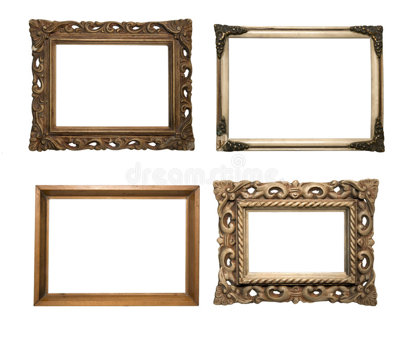 Old frames serie stock photo. Image of wall, white, picture - 6816804