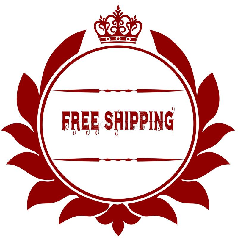 old free shipping red seal stock illustration illustration of
