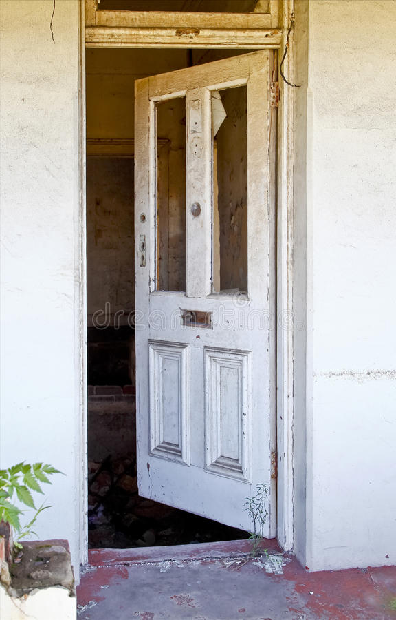 Download Old front door stock image. Image of neglect grass ownership - 39266737 : door broken - pezcame.com