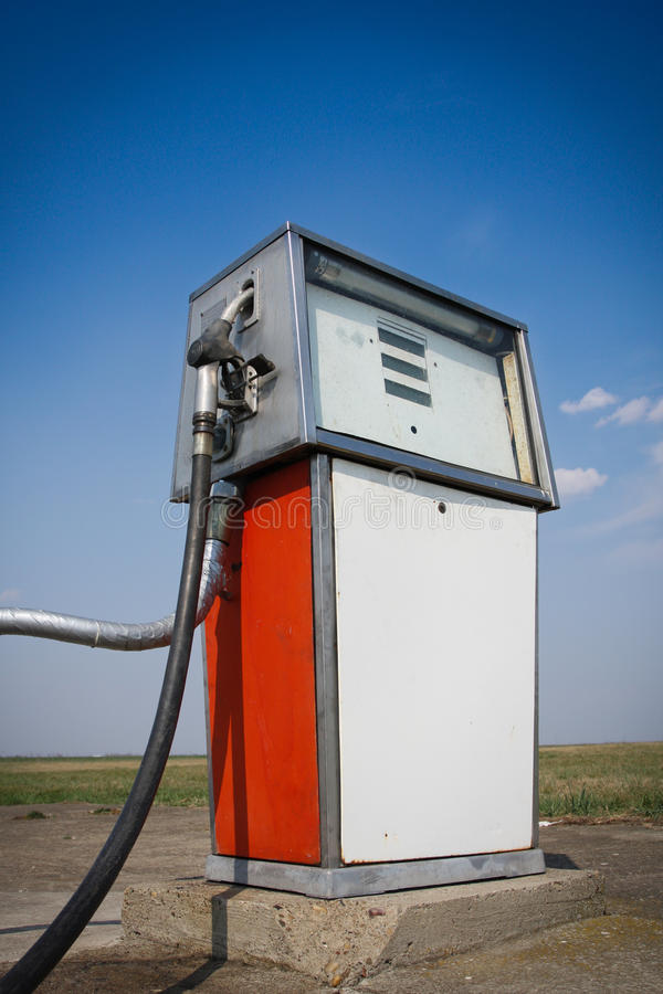 Download Old Fuel Pump Royalty Free Stock Photo - Image: 24006615