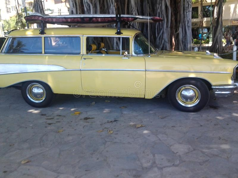 Old G. Surf Wagon stock image. Image of classic, ride - 58957053