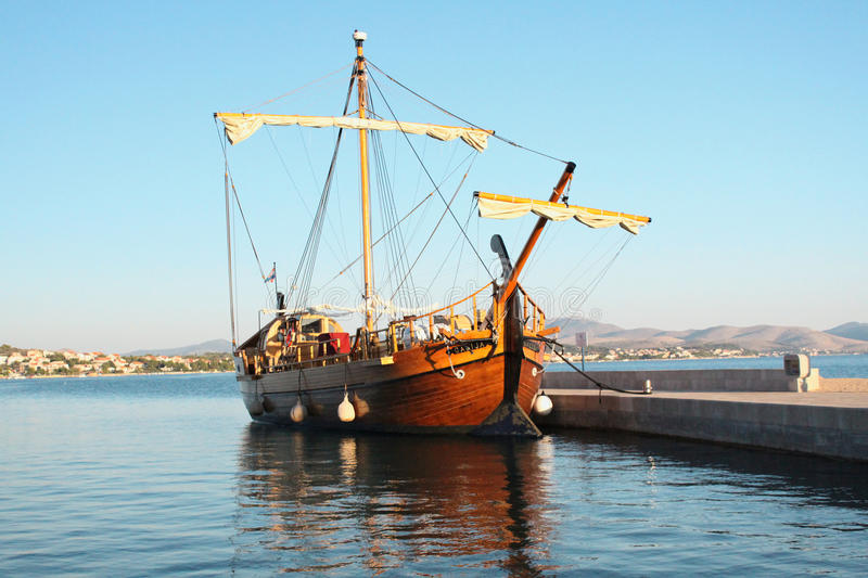 Download Old galley stock image. Image of european, croatia, inster - 11373227