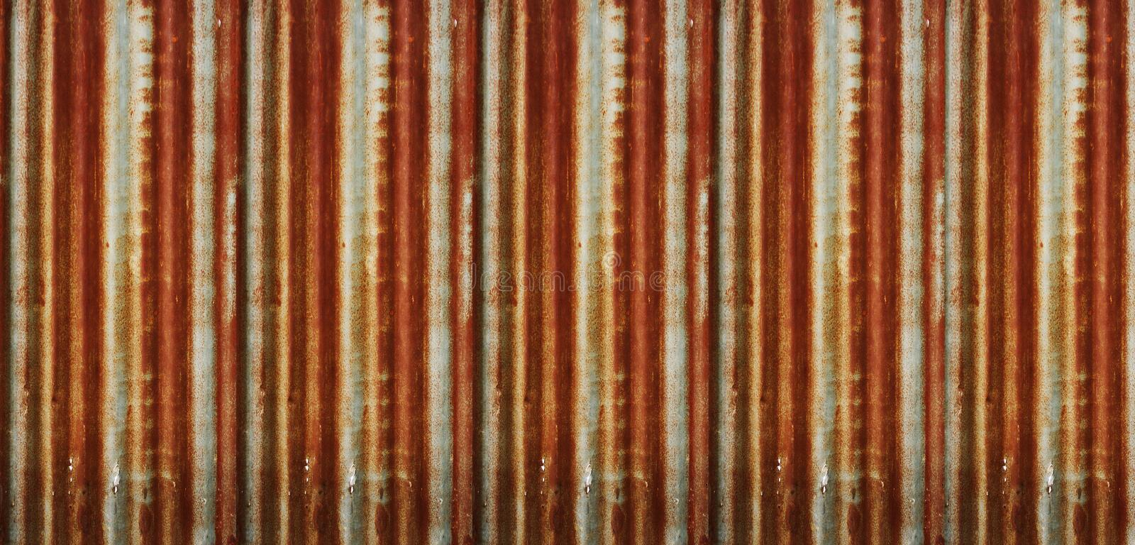 Old galvanized sheet that is rusty texture background. Nature. Photo.  stock illustration