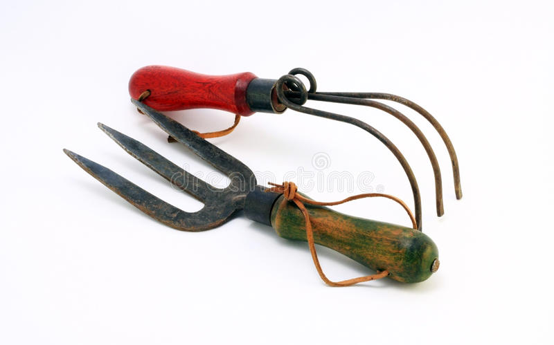 Download Old Garden Tools stock image. Image of nobody, fork, photograph - 17241599