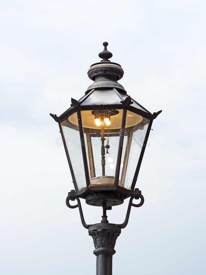 Download Old Gas Lantern Stock Photo Image Of Cast Energy Light