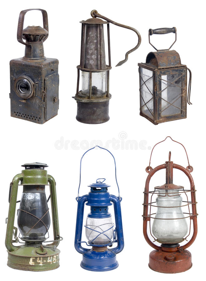 Free Old Gasoline Lamps Stock Image - 14674291