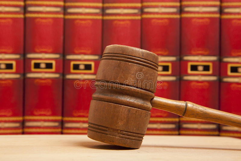 Download Old  Gavel Royalty Free Stock Photos - Image: 33335548