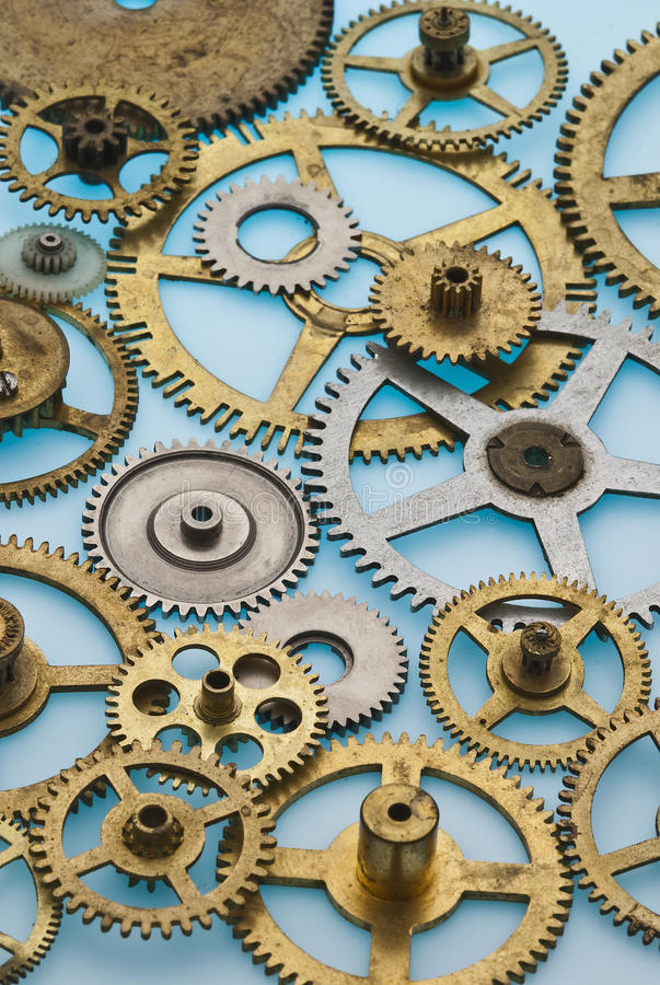 Download Old gears#2 stock image. Image of circle, group, metal - 14684879