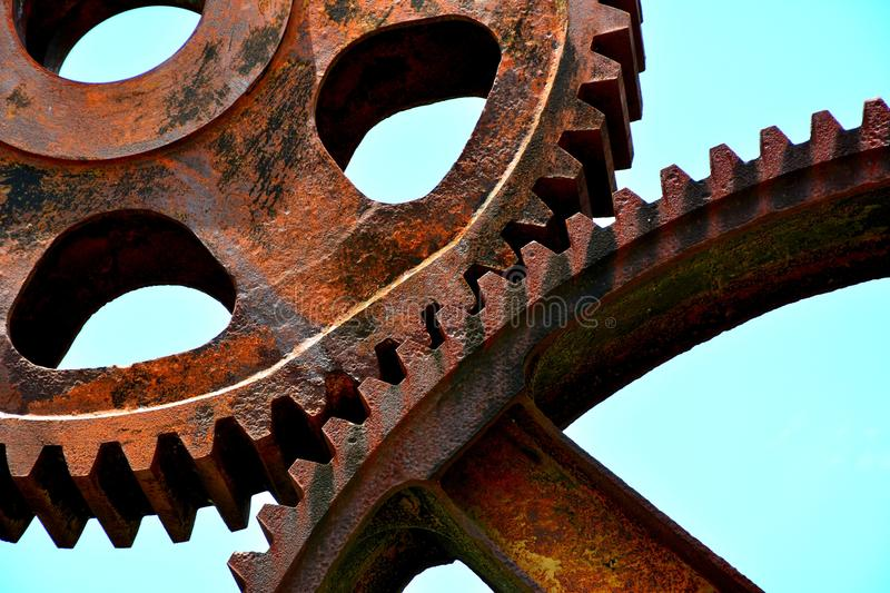 Old Gears stock photography