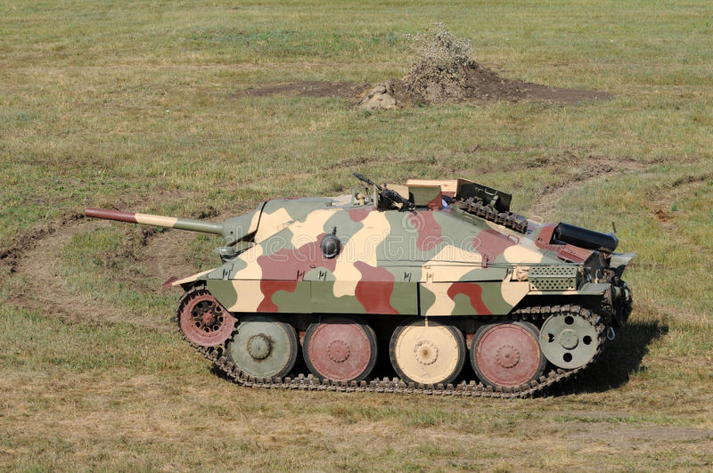 Old German Tank Royalty Free Stock Photography