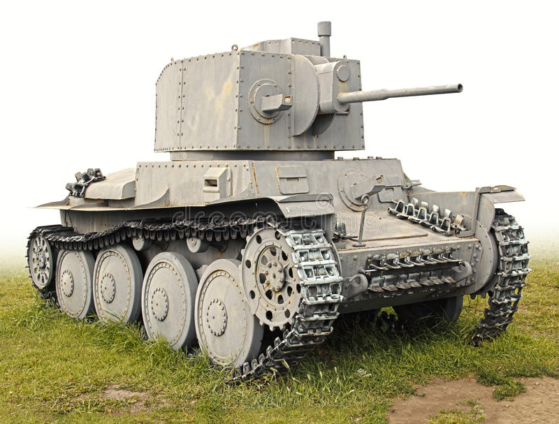 Download The Old German Tank PzKpfw 38(t) Stock Image - Image: 25888875
