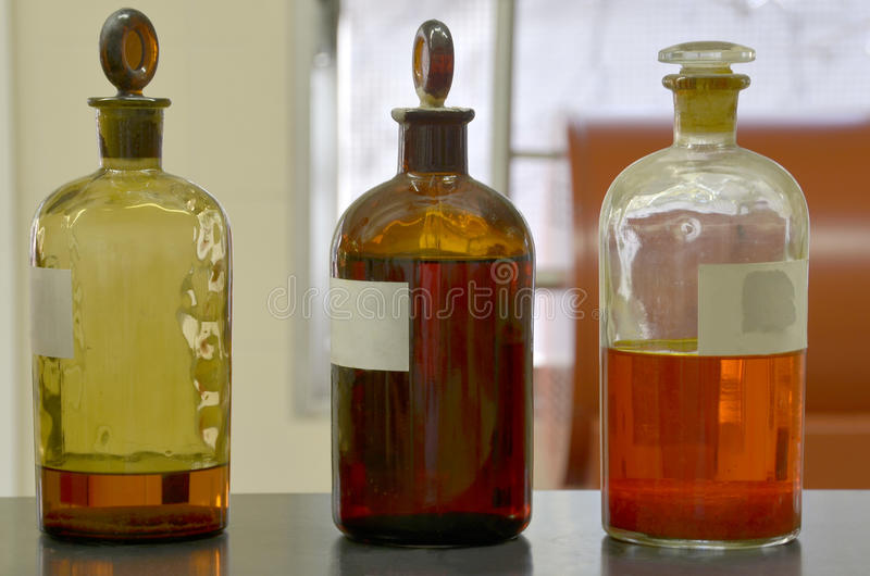 Old Glass Bottles Part - 29: Download Old Glass Bottles Stock Image. Image Of Industry, Laboratory -  35335237