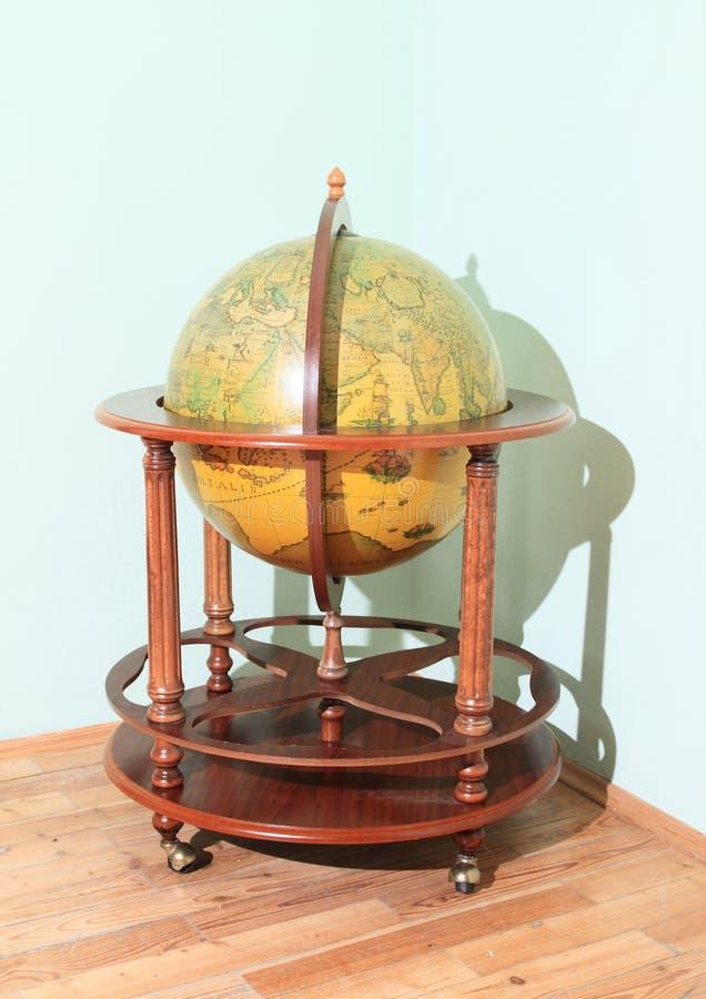 Old globe royalty free stock image
