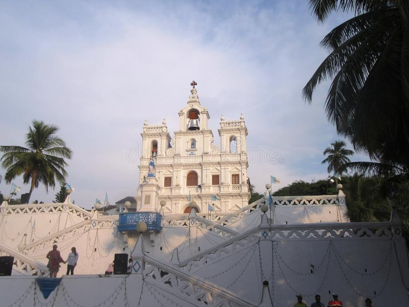 Old Goa and its churches. / Goa South India royalty free stock images