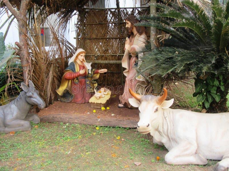 Old Goa and its churches. / Goa South India stock photo