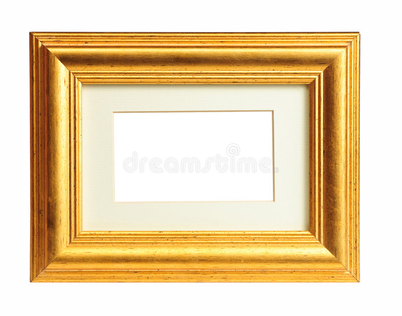 Download Old gold frame stock photo. Image of framework, border - 9029394