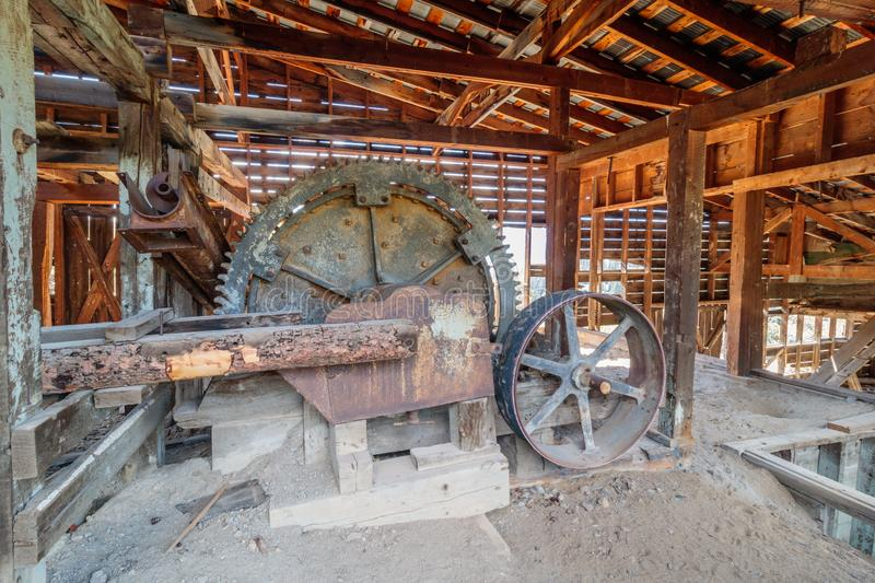 Gold or Silver Mine, Bachelor Loop, Creede Colorado. Old gold or silver mine located in Creede Colorado stock images