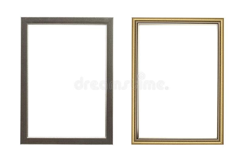 Download Old golden frame. stock image. Image of blank, clean - 83700713