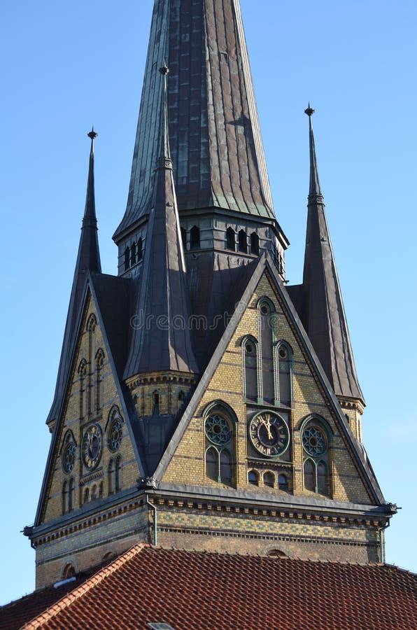 Free Old Gothic Church Of St. Nikolai In Flensburg / Germany Stock Image - 35248341